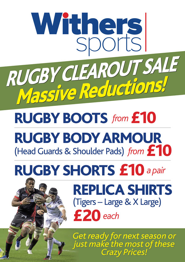 Withers Rugby Clearance