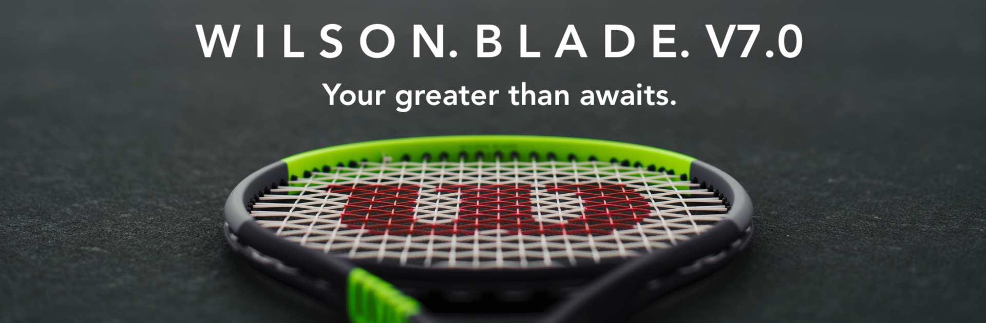 Wilson Blade v7.0 banner