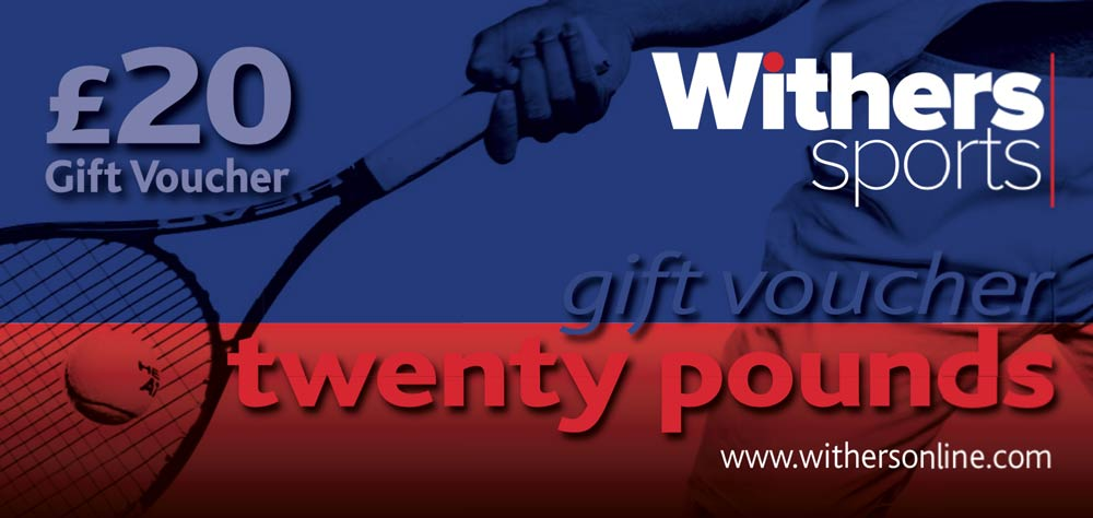 aed94b00a1b Withers Gift Vouchers - Withers Sports - Specialist Racket Sports Shop