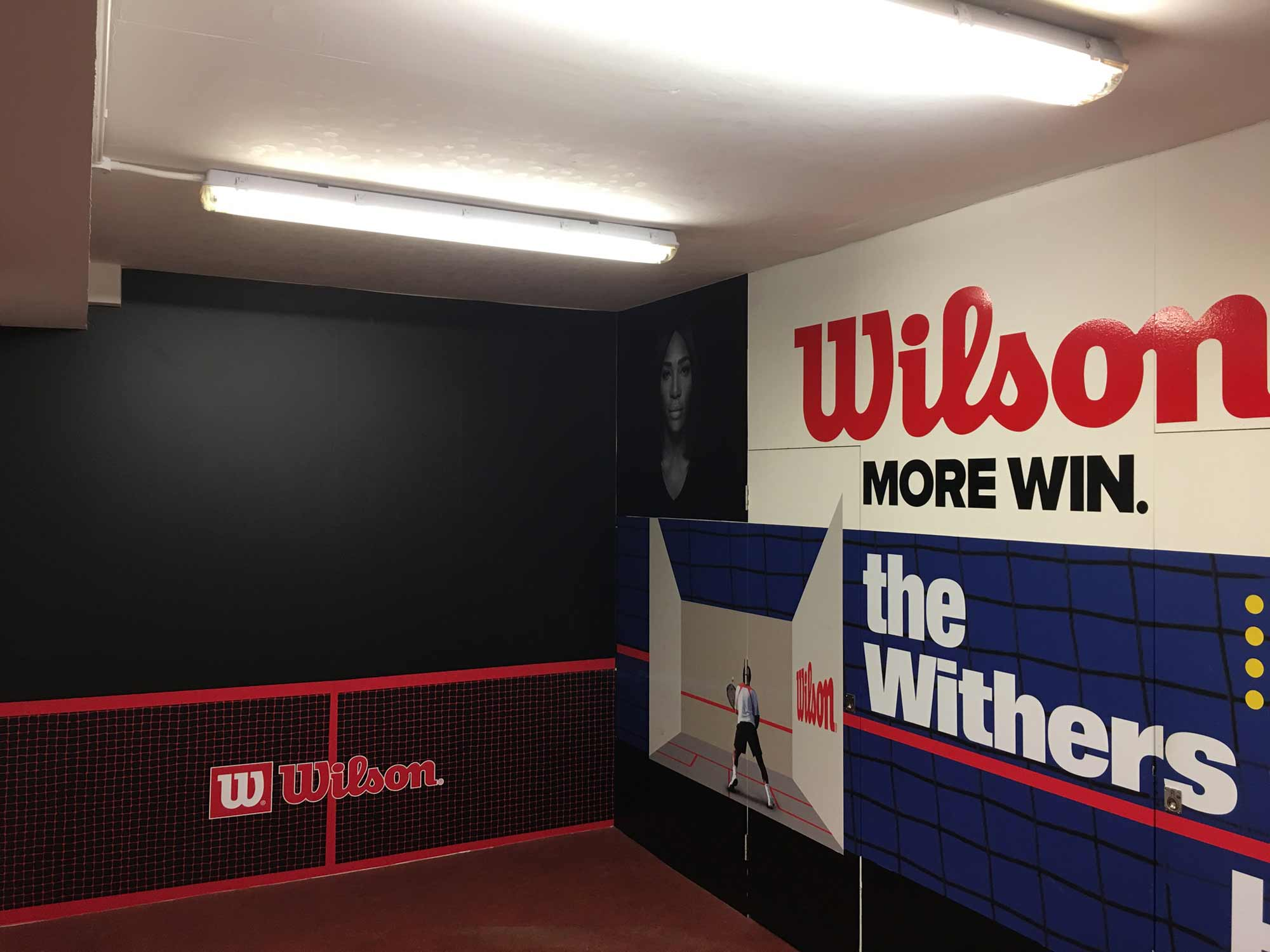 Withers Sports Hitting Wall