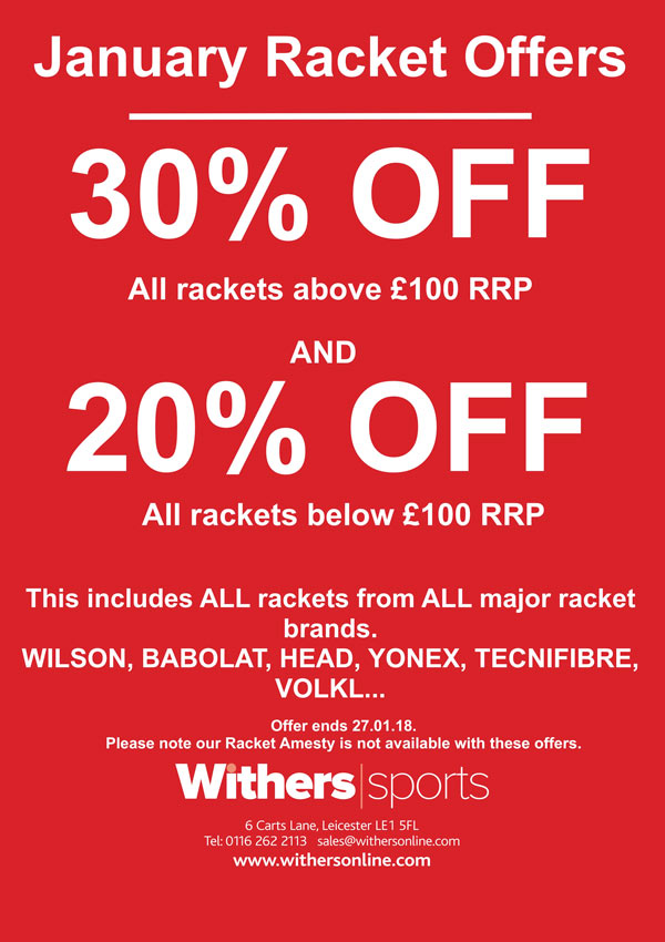 Withers Sports January Offers