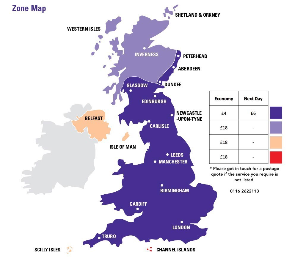 Withers Sports Outlet Shipping Zones