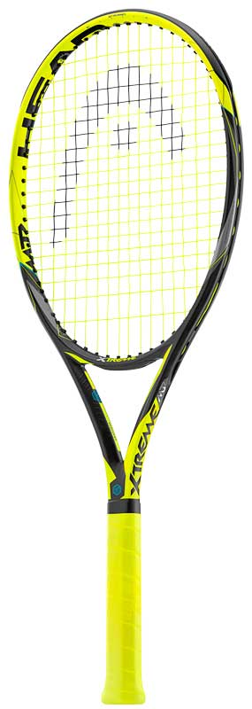 Head Extreme Tennis Rackets Generate More Spin And More
