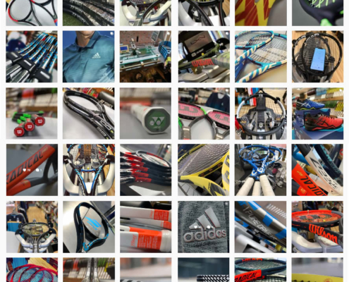 The confusion of buying a new tennis racket